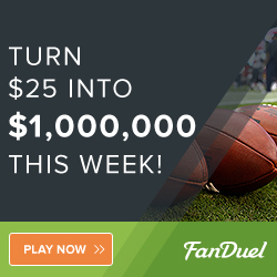 Turn $25 in to $1,000,000 this week!